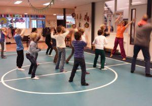 Studio de Mol, Miranda Molhoek, in actie als vakdocent basisschool Alkmaar
